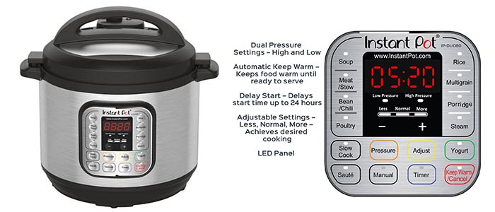 Instant Pot DUO80 Pressure Cooker